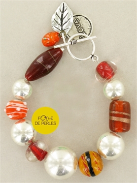 Bracelet intemporels orange