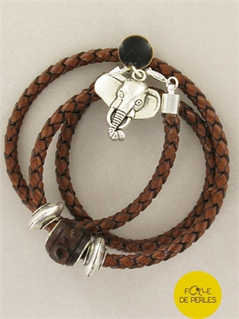 Bracelet african dream marron