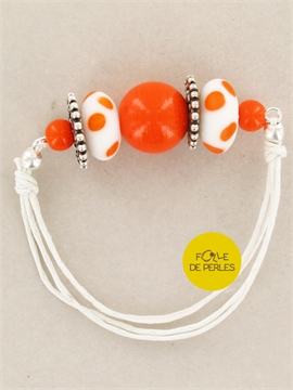 Bracelet colorfull orange