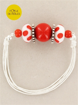 Bracelet colorfull rouge