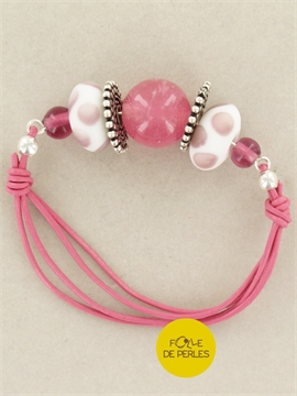 Bracelet colorfull rose